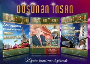 """""""Düşünən İnsan"""" jurnalının növbəti buraxılışı işıq üzü gördü"""