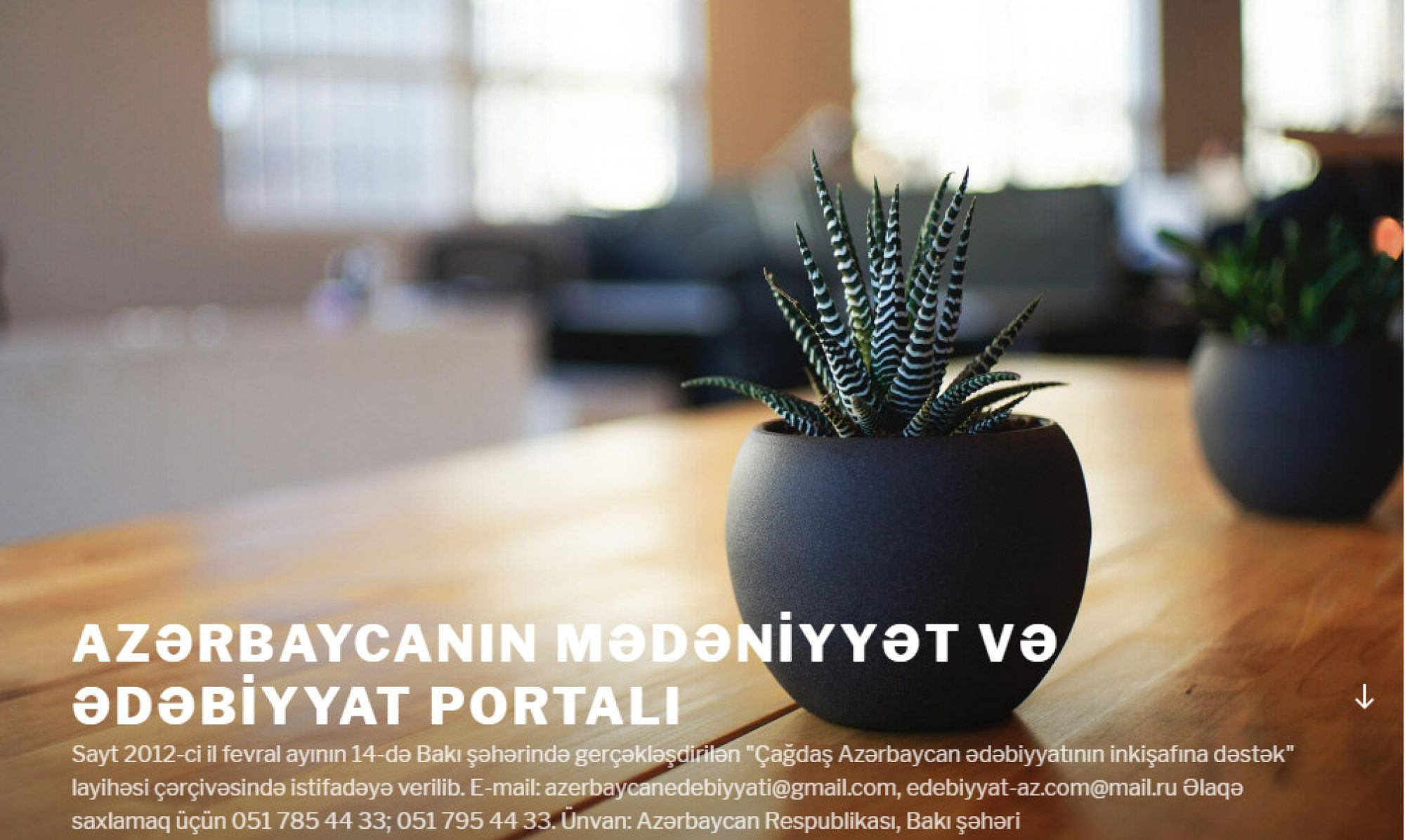 Azərbaycanın Mədəniyyət və Ədəbiyyat Portalı